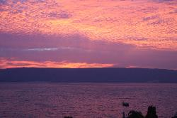 A View from our Room of the Sea of Galilee!