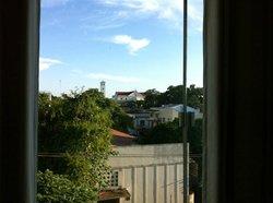 A vista do meu apartamento