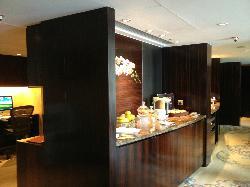 Le buffet gratuit du Lounge Horizon-Club