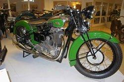 Eds MC- and Motormuseum for veteran motorbikes