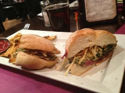 Steakhouse baguette