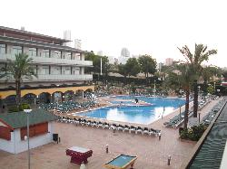 The pool area from room 2111
