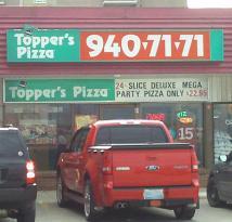 Topper's Pizza Orangeville