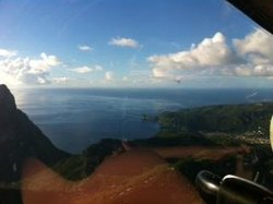 St Lucia from the helicopter