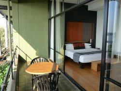 chambre avec vue panoramique