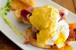 A big favourite - Bacon Benedict