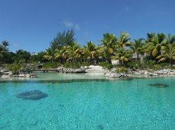 Lagoonarium surrounding the Miri Miri Spa