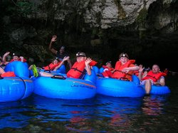 Butts Up Cave Tubing