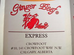 Ginger Beef Express