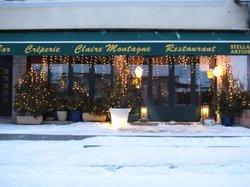 Bar Restaurant Claire Montagne