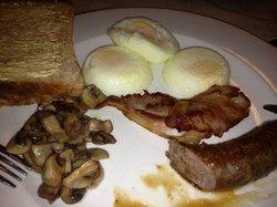 breakfast at Sunward Park Guesthouse