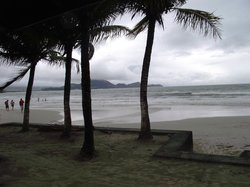 Toninhas Beach