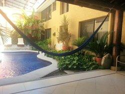 Court yard outdoor pool