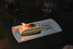 Amazing dessert and special note!