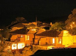 Villas vista nocturna