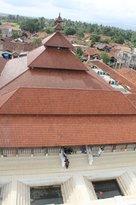 atap masjid Banten