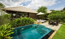 Chalet with plunge pool