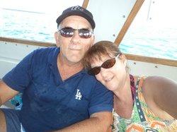 On Boat in Belize