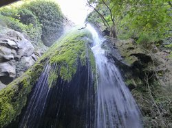 Richtis waterfall from below
