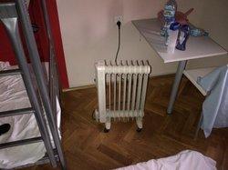 electric heater replacing brocken heating system