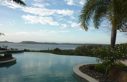 View of Bay of Papagayo from the terrace