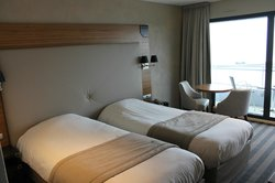 Chambre Twin vue mer
