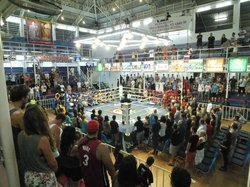 巴东拳击体育场