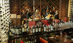 Wine Room at Spencer's for Steaks and Chops
