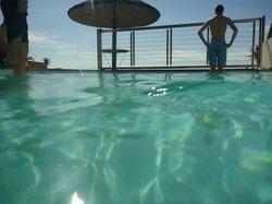Sehr schöner Pool mit Blick auf die Walker Bay