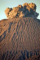 Mount Semeru Volcano