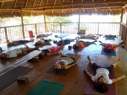 Yoga at the La Sala