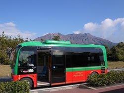 Sakurajima Island View