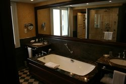 Stort och fint badrum