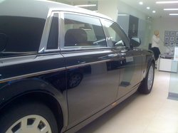 A Rolls Royce at the Mayfair Showroom
