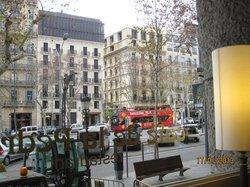 Vista sul Passeig de Gracia
