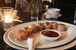 Steamed 'Mark Eather' Ocean trout Shumai with XO sauce