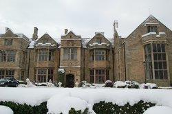 Snowy Redworth Hall Hotel