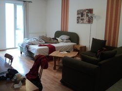 Our messy, still beautiful, room