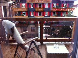 Balcony of Room 404