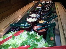 """Famous"" salad bar"