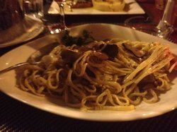 Spaguetti with Black Truffles!!!