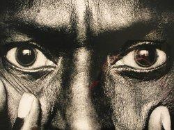 Part of the Miles Davis photo by Anton Corbijn