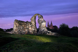 Ruins of the Rezekne Castle Hill
