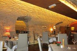 Une des deux salles de restaurant