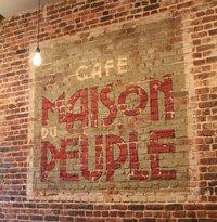 Cafe Maison du Peuple