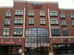 The outside of the Fairfield Inn Downtown Tulsa