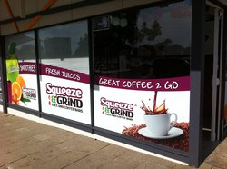 Squeeze and Grind Juice and Coffee bars