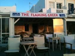 The Flaming Greek