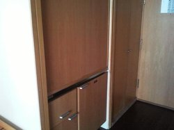 Last century cupboard