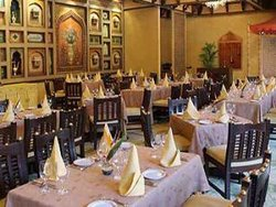 Restaurant at Hotel Taj Mahal